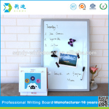 silver color frame small magnetic standard whiteboards