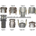 good quality stainless steel 316 camlock coupling hose fitting