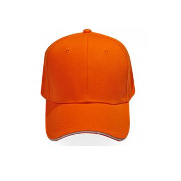 Wholesale Orange Blank Baseball Caps
