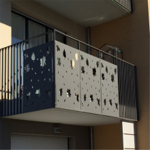 Laser Cut Custom Balcony Panels