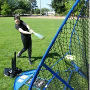 Praktyka docelowa netto siatki do ćwiczeń baseballu
