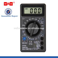 Multimètre numérique DT838 avec protection de conception intégrale de protection de test de température avec GS