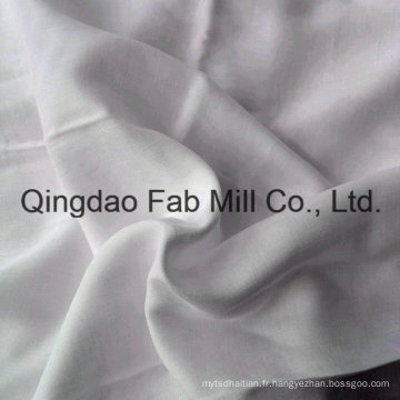 Tissu de coton organique en bambou 120GSM doux (QF16-2698)