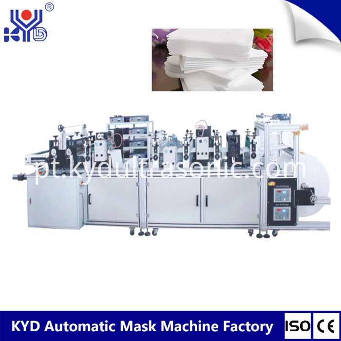 spunlace handkerchief making machine