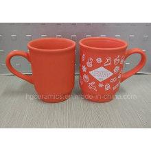 Regalo de Navidad, taza de Navidad, taza roja de Navidad