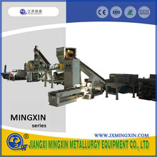 Scrap car battery recycling machine