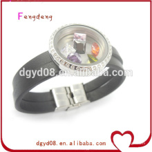 super quality mens leather bracelet