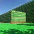 Wire mesh screen fence