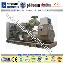 industrial water cooled soundproof cummins engine marine generator mad