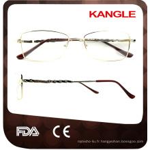 Vente chaude HAUTE - cadre de lunettes unisexe optique Acétate avec prix