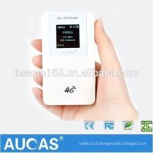 Mini cartão de dados externo sem fio externo 3g 4g wifi modem router