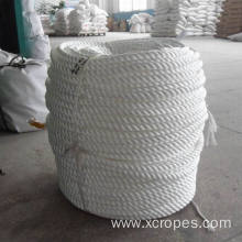 Best Price on for 3 Strand Polypropylene Rope White PP Rope Mooring Rope export to Congo Manufacturer