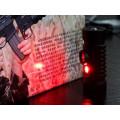 MAXTOCH H01 XM-L2 U2 LED Weiß und Rot Strahl Scheinwerfer
