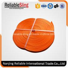 Ceinture / courroie de sangle résistante de polyester orange de 300mm