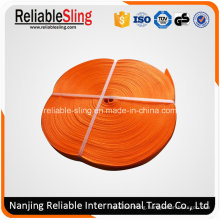 300mm Orange Polyester Heavy Duty Webbing Belt / Strap