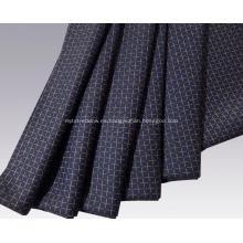 Tela de lana de cachemir peinada y mezcla de algodón