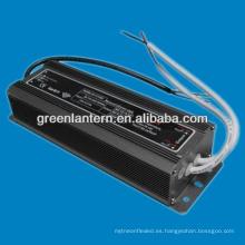 Controles de voltaje constante de 24VDC 100W LED CE plástico de plástico y RoHS