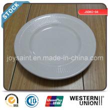 6 '' Flat Plate (stripeedge) em estoque para venda