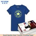 A4 Dark Light Color T-Shirt Inkjet Laser Thermal Transfer Paper
