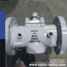 API6d RF Ends Jacketed Plug Valve