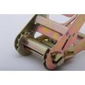Big Size 4'' / 100MM Aluminum Handle Cargo Lashing Belt