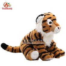 Alibaba China con pilas juguete suave del zodíaco animales de peluche que hablan la muñeca felpa tigre de juguete