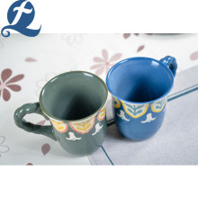 Hot Selling Colorful Painting Coffee Mug With Handle