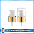 20mm Aluminium Pomme à crème couleur or pour bouteille de crème cosmétique
