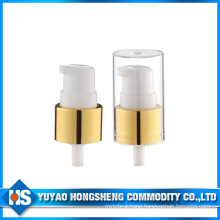 20mm Aluminium Gold Color Cream Pump for Cosmetic Cream Bottle