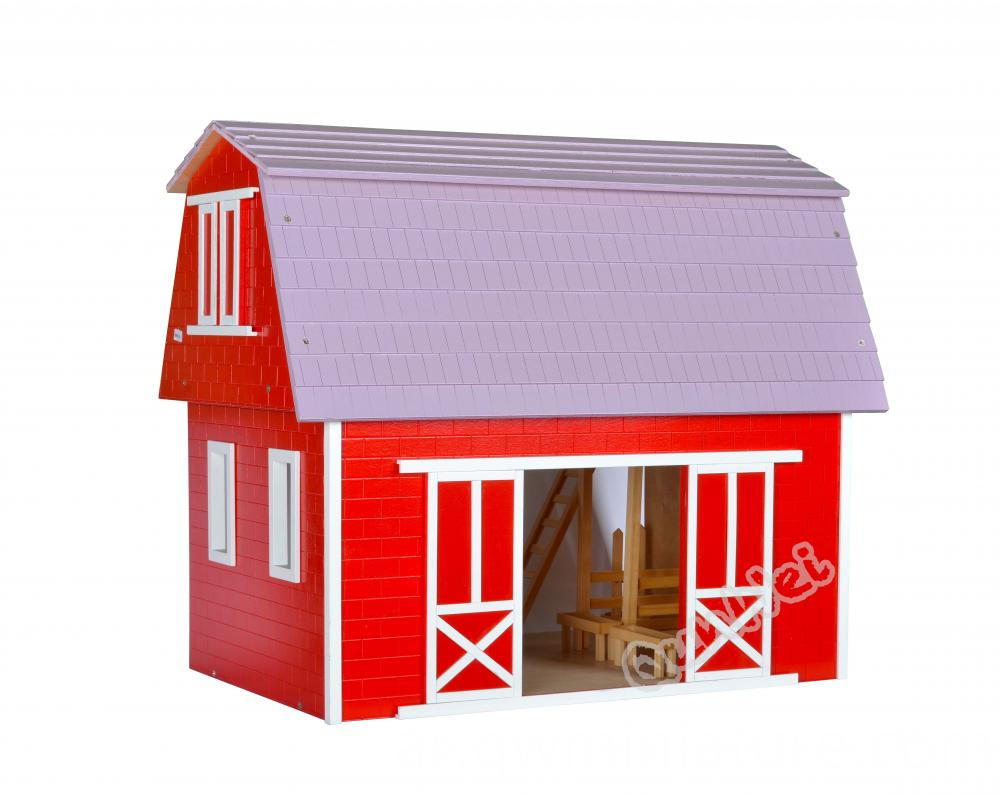 Dollhouse Horse Stable