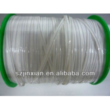 4mm white color twist ties for bread package