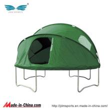 Novo modelo grande trampolim redondo com barraca para venda