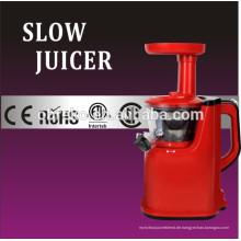 Tritan Auger Langsam Geschwindigkeit System Kunststoff Gehäuse Langsame Juicer