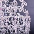 Großhandel neue Mode-Design große hohe Festzug Krone Tiaras zum Verkauf
