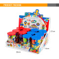 50PCS 10 Color 12 Bottles Funny Plastic Kids Intelligence Math Toy Building Block