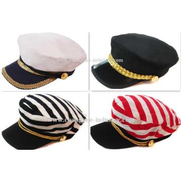 Custom fashion men and women plain flat top cap hat