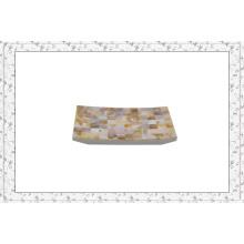 Canosa coleção de banheiro concha MOP mosaico Washroom toalha titulares