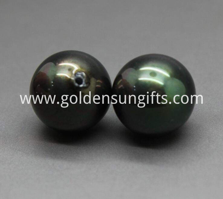 Black Shell Pearl Beads