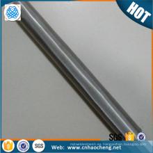 """25 50 micras 9 """"* 1"""" tubo de terp de la pantalla de malla de acero inoxidable para el filtro de agua"""