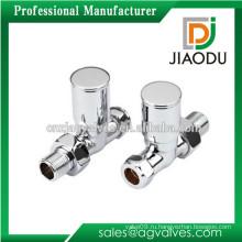 Изготовление фарфора на заказ - хромированный или никелированный угольный угольный клапан для стиральной машины