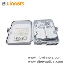 ODB 24 Core Boîte à bornes à fibre optique Ftth Boîte de distribution à fibre optique Mur extérieur Ftth Box