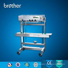 Heavy Duty Model Vertical Continuous Band Sealer Plastic Bag Sealing Machine