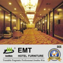 Panneaux muraux en bois du secteur public de l'hôtel (EMT-F1201)