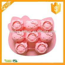 BPA Free Dishwasher Safe Cartoon Shaped Silicone Fondant Mold