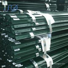 Poteaux de barrière de type t de treillis et de portes / poteau de clôture en acier pour le marché du Canada