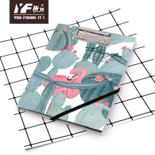 Custom cactus&flamingo style cute A5 clipboard with notebook