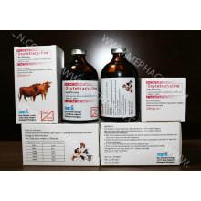 Инъекция окситетрациклина 100 мл флакон 20%