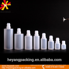 different capacity PE little plastic eye dropper bottles