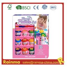 Juego de pintura de dedos para niños