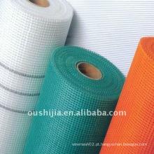Muro cobrindo malha de fibra de vidro (fábrica)